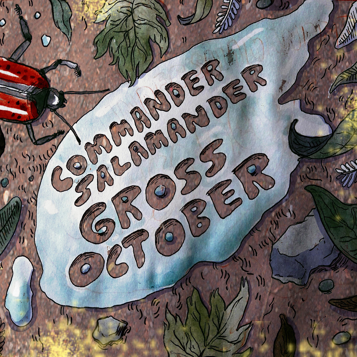 Commander Salamander - Gross October