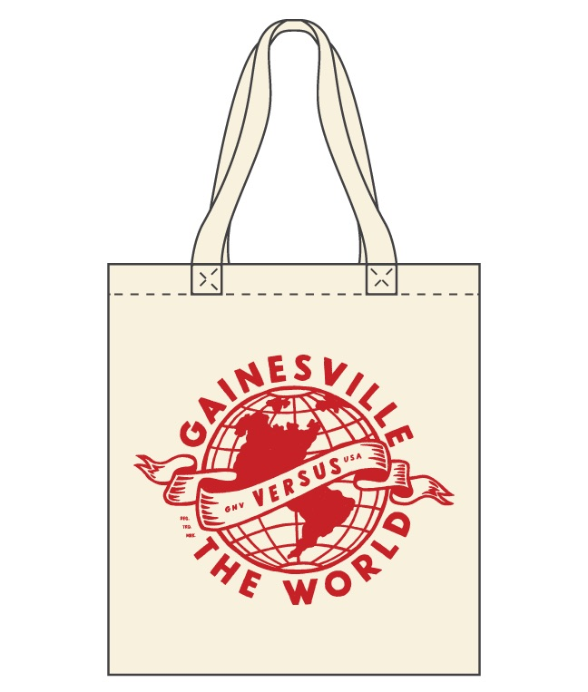 GAINESVILLE VS THE WORLD TOTE