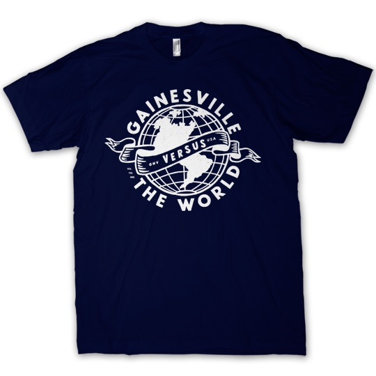 GAINESVILLE VS THE WORLD T-SHIRT