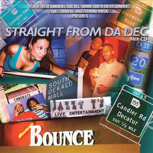 Ghetto Mafia & DJ Scorpio - Straight From Da Dec (Mixtape)