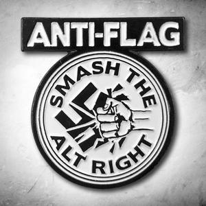 Anti-Flag - Smash The Alt Right Enamel Pin