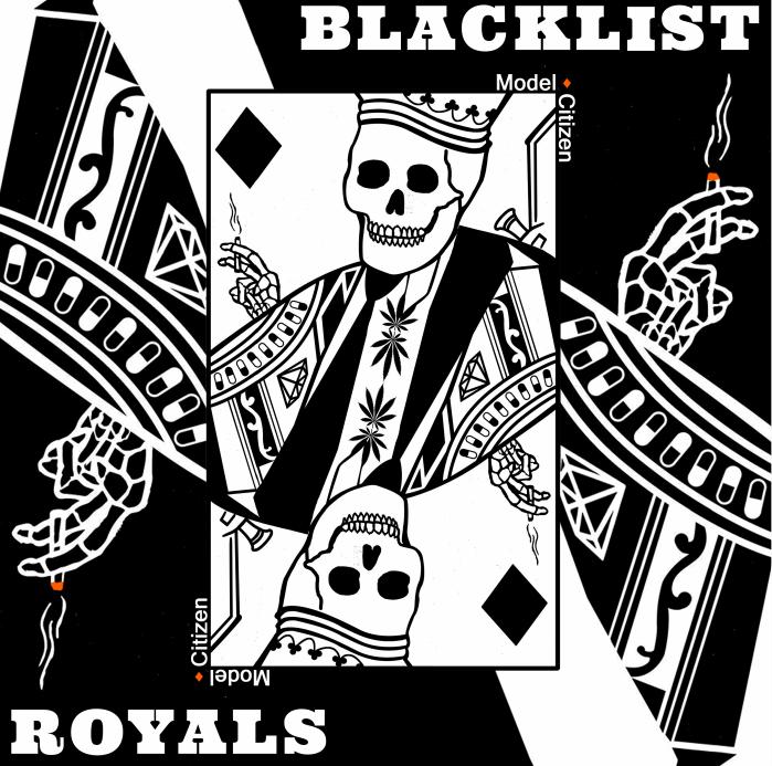 BLACKLIST ROYALS - MODEL CITIZEN LATHE 7 INCH + COFFIN RESIN TOY