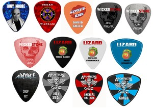 Burr Fest Guitar Picks