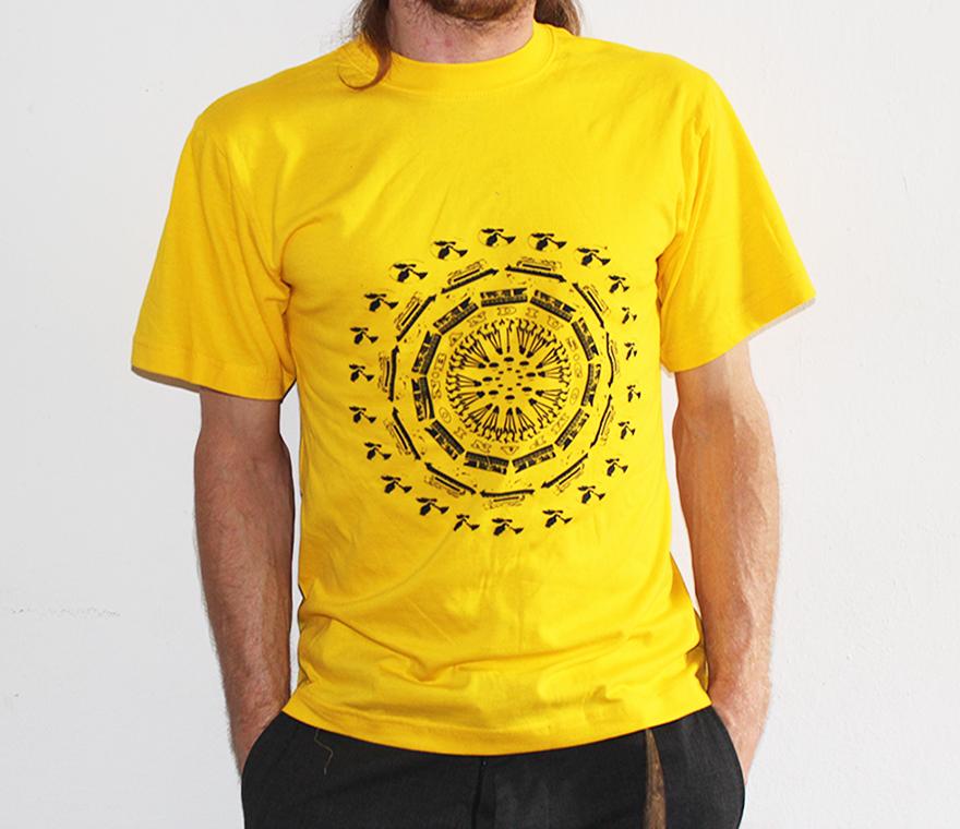 Ban Circle Yellow Shirt