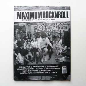 MAXIMUM ROCKNROLL #414 & back issues