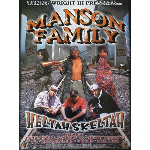 Manson Family - Heltah Skeltah 18 x 24 Poster