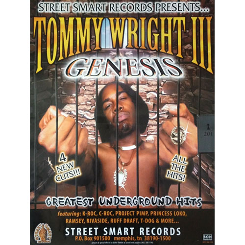 Tommy Wright III - Genesis 18 x 24 Poster