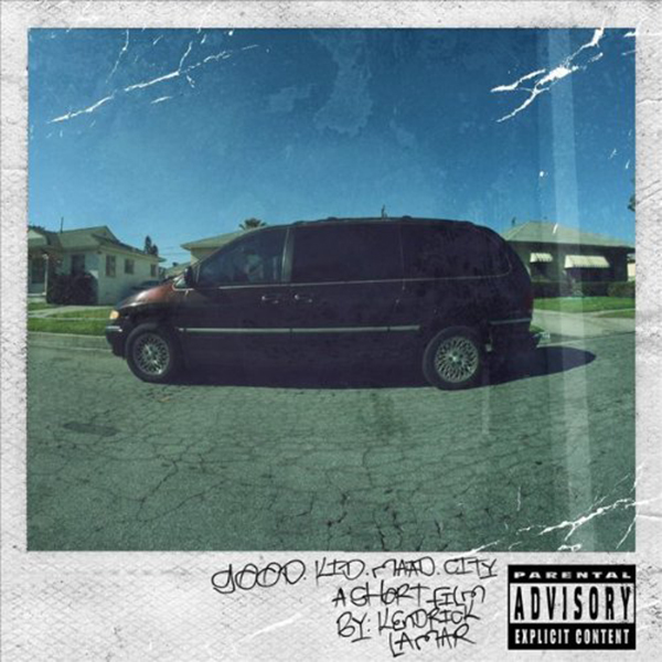 Kendrick Lamar - Good Kid, M.A.A.D. City 2xLP