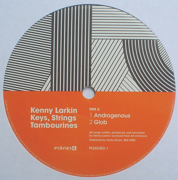 Kenny Larkin ‎– Keys, Strings, Tambourines LP (Planet E)