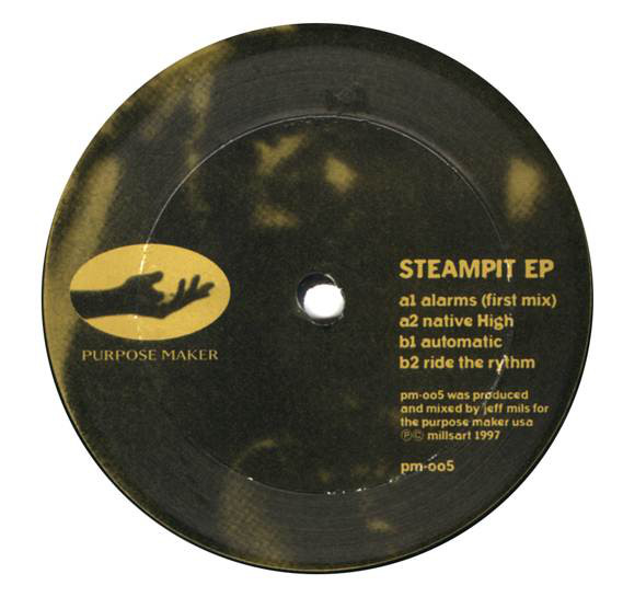 Jeff Mills ‎– Steampit EP (Purpose Maker)