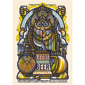 Leeds Beer Festival 2017 - Print