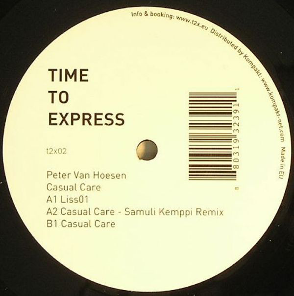 Peter Van Hoesen ‎– Casual Care (Time To Express)