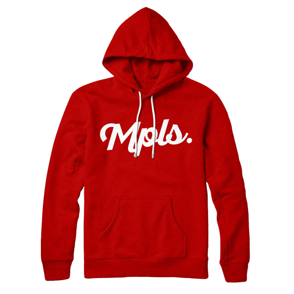 MPLS Classic Hoodie - Red/White