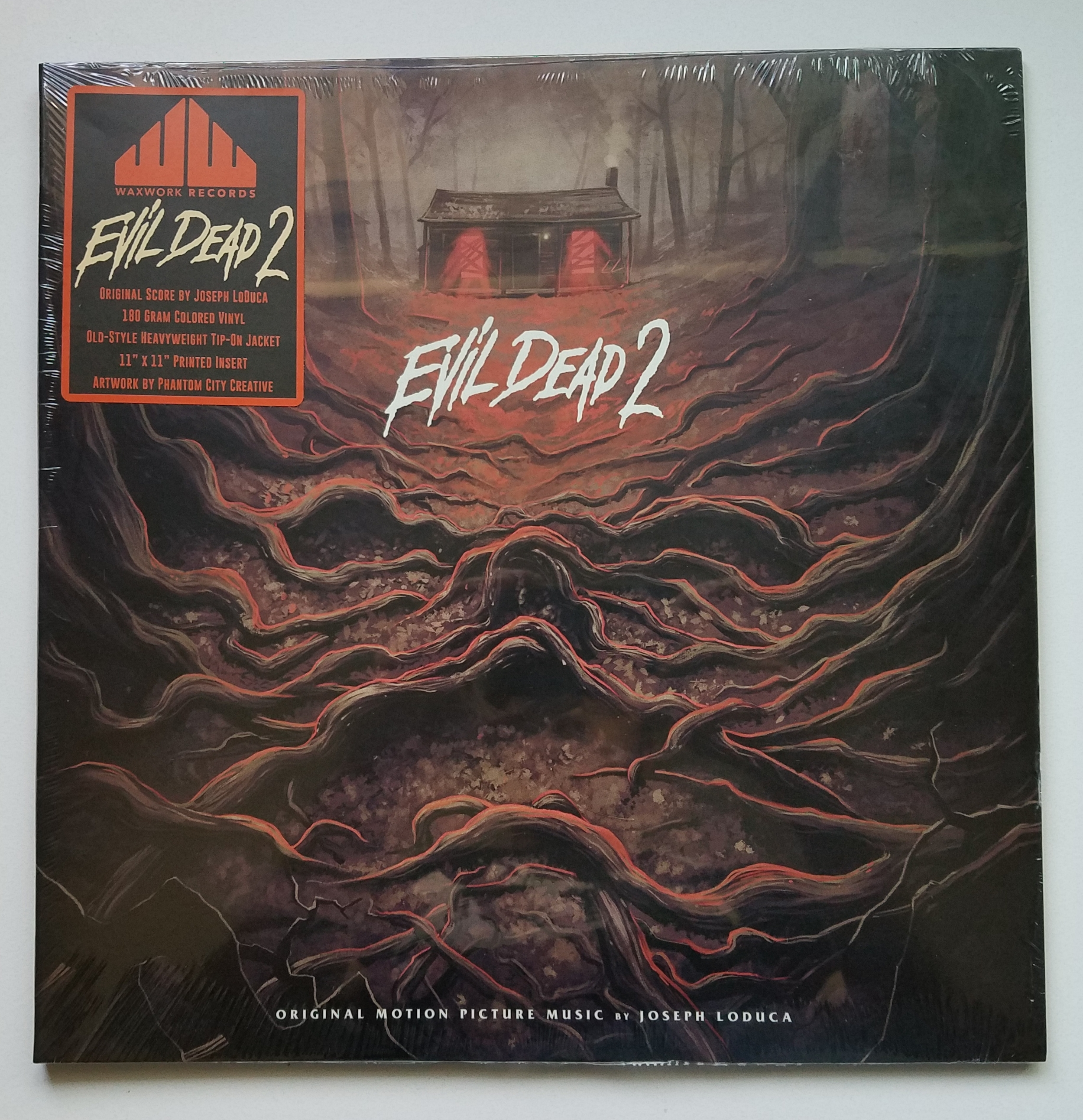 Evil Dead 2 Original Motion Picture Soundtrack 2xLP (Yellow Vinyl)