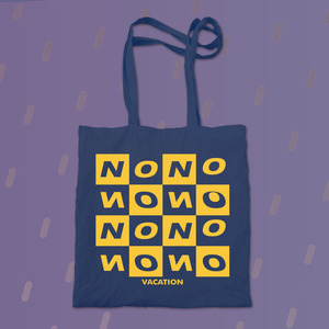No Vacation - Tote Bag