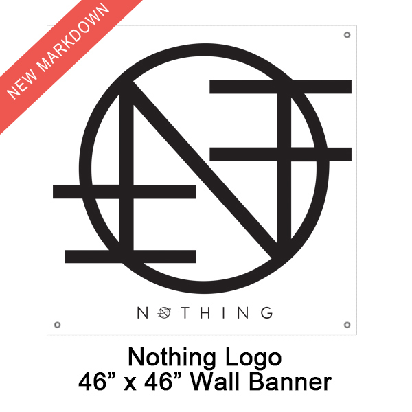 Nothing - Logo Flag
