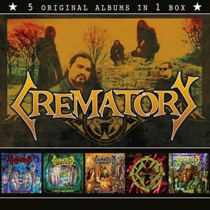 Crematory - 5 Original Albums In 1 Box [PREORDER]