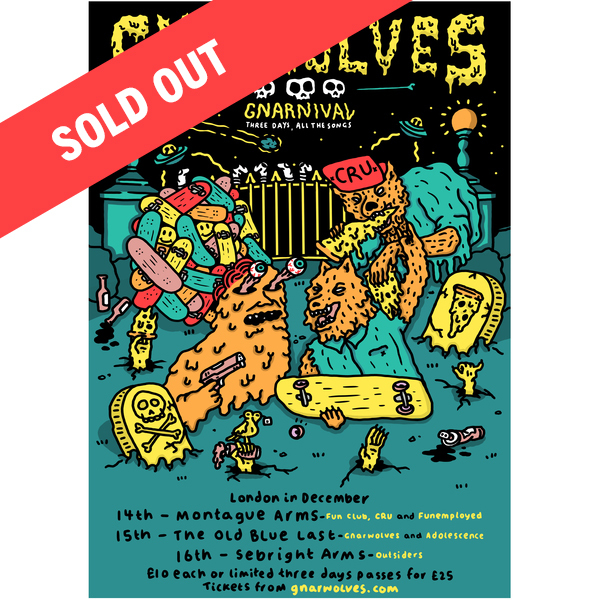 Gnarnival tickets - 14th, 15th, 16th Dec 2017 - 3 Day Pass