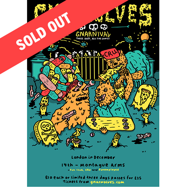 Gnarnival tickets - 14th Dec 2017 @ Montague Arms