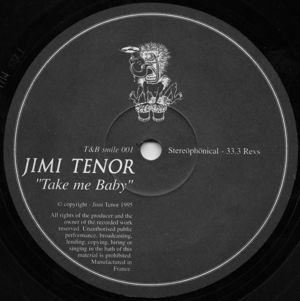 Jimi Tenor – Take Me Baby (T&B Vinyl)