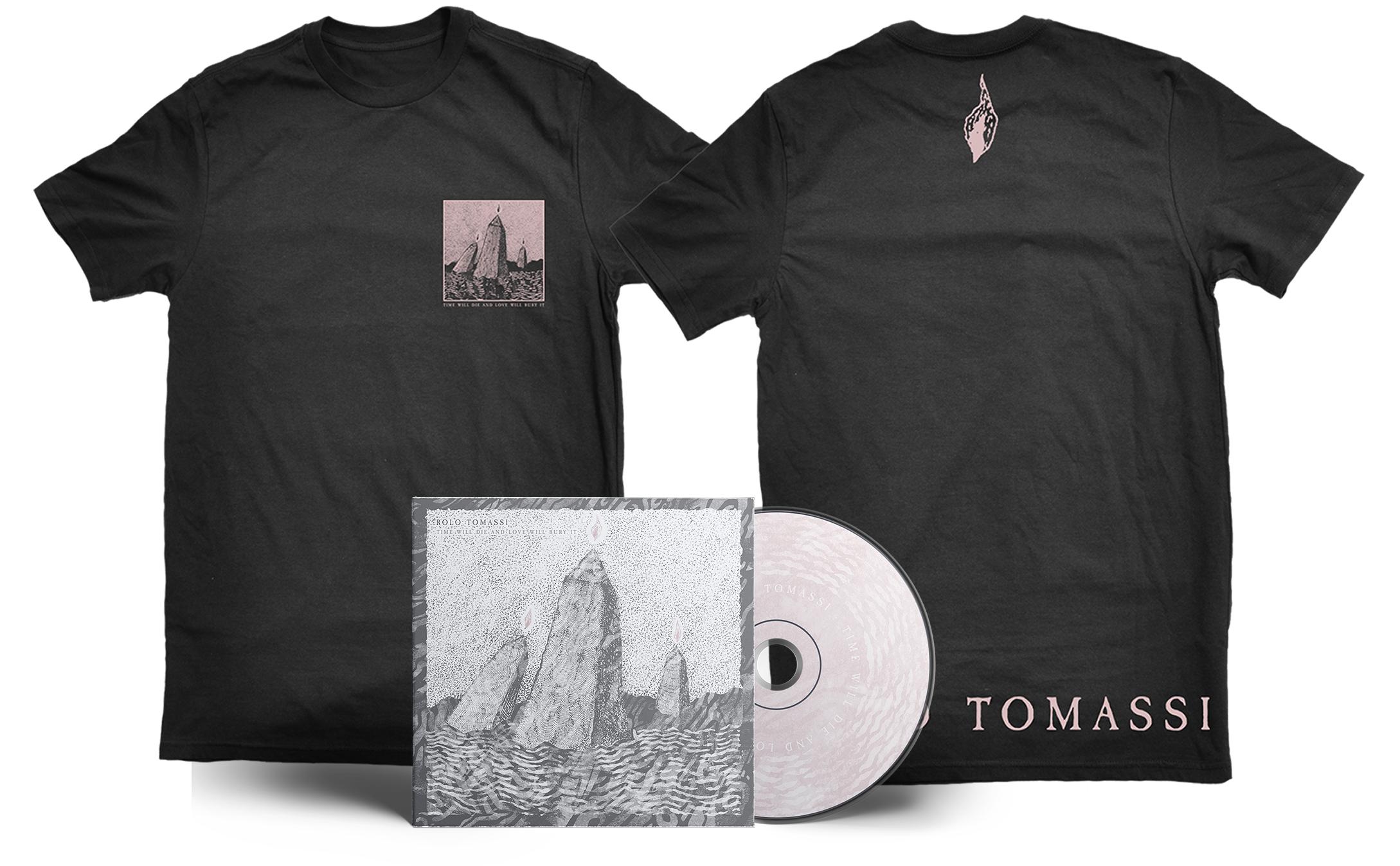 Rolo Tomassi - '...Love Will Bury It' CD + shirt