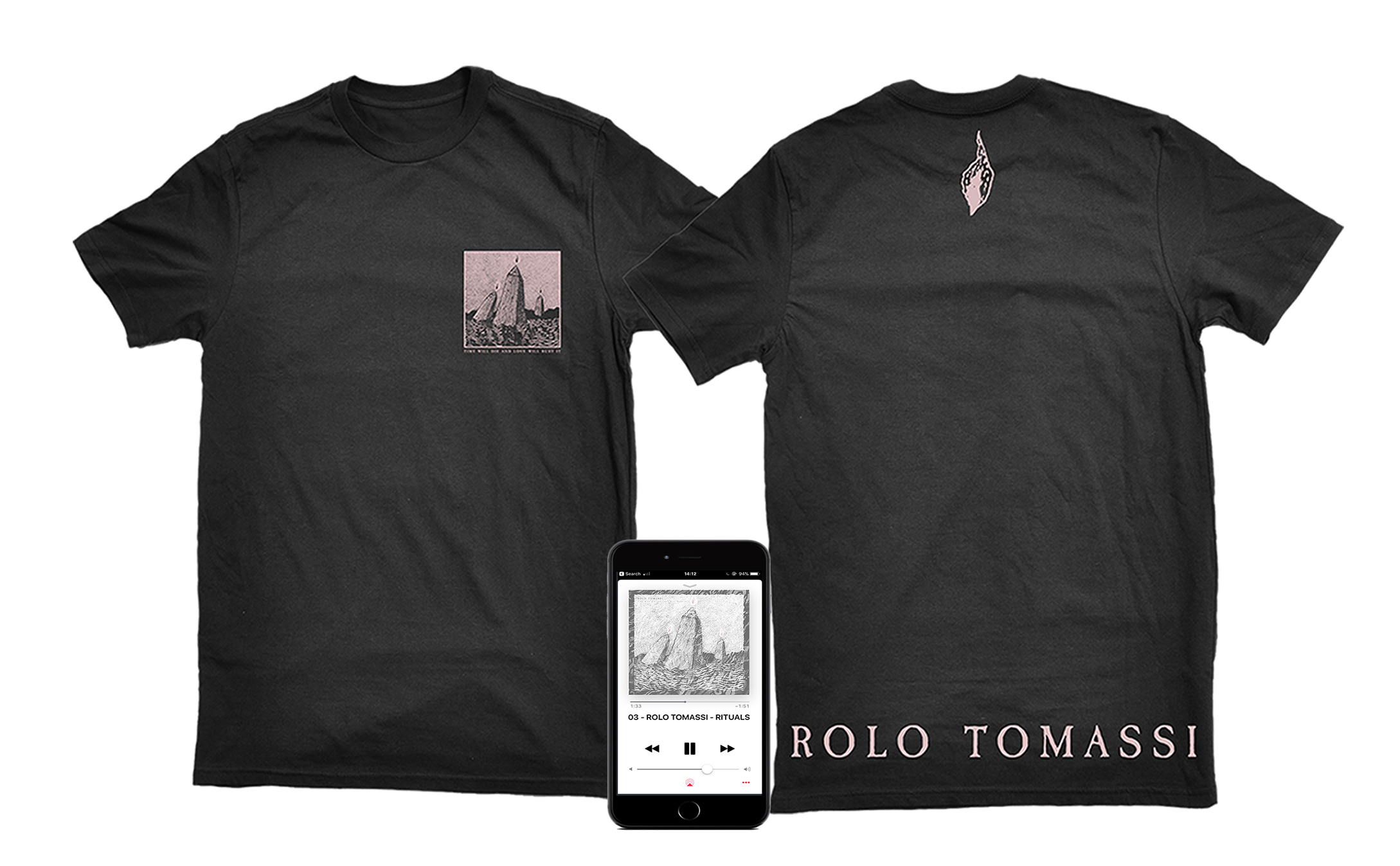 Rolo Tomassi - '...Love Will Bury It' DD + shirt PREORDER