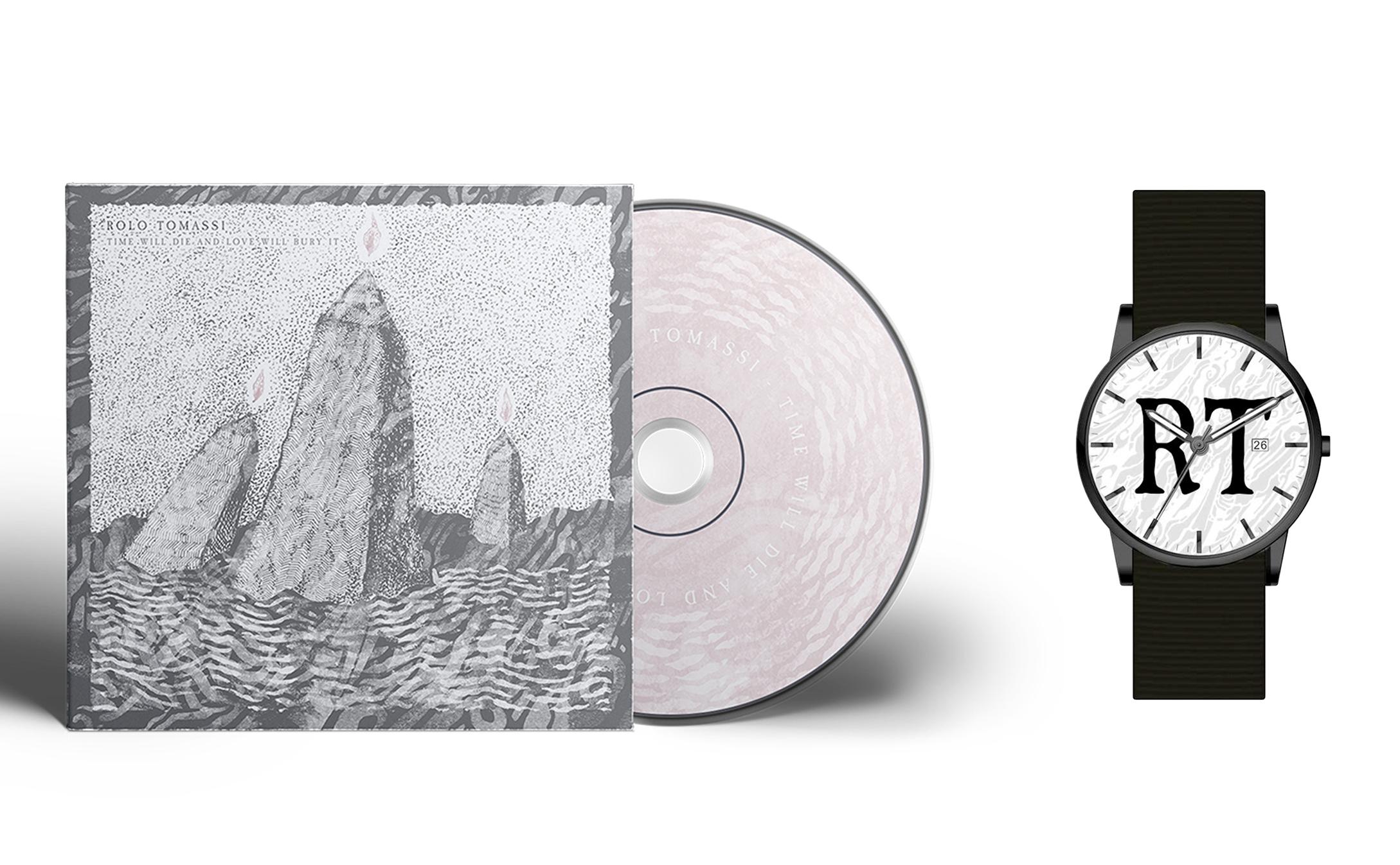 Rolo Tomassi - '...Love Will Bury It' CD + watch