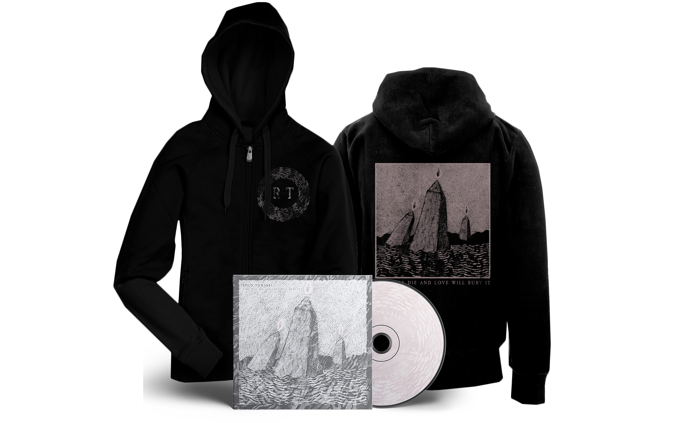 Rolo Tomassi - '...Love Will Bury It' CD + hoodie