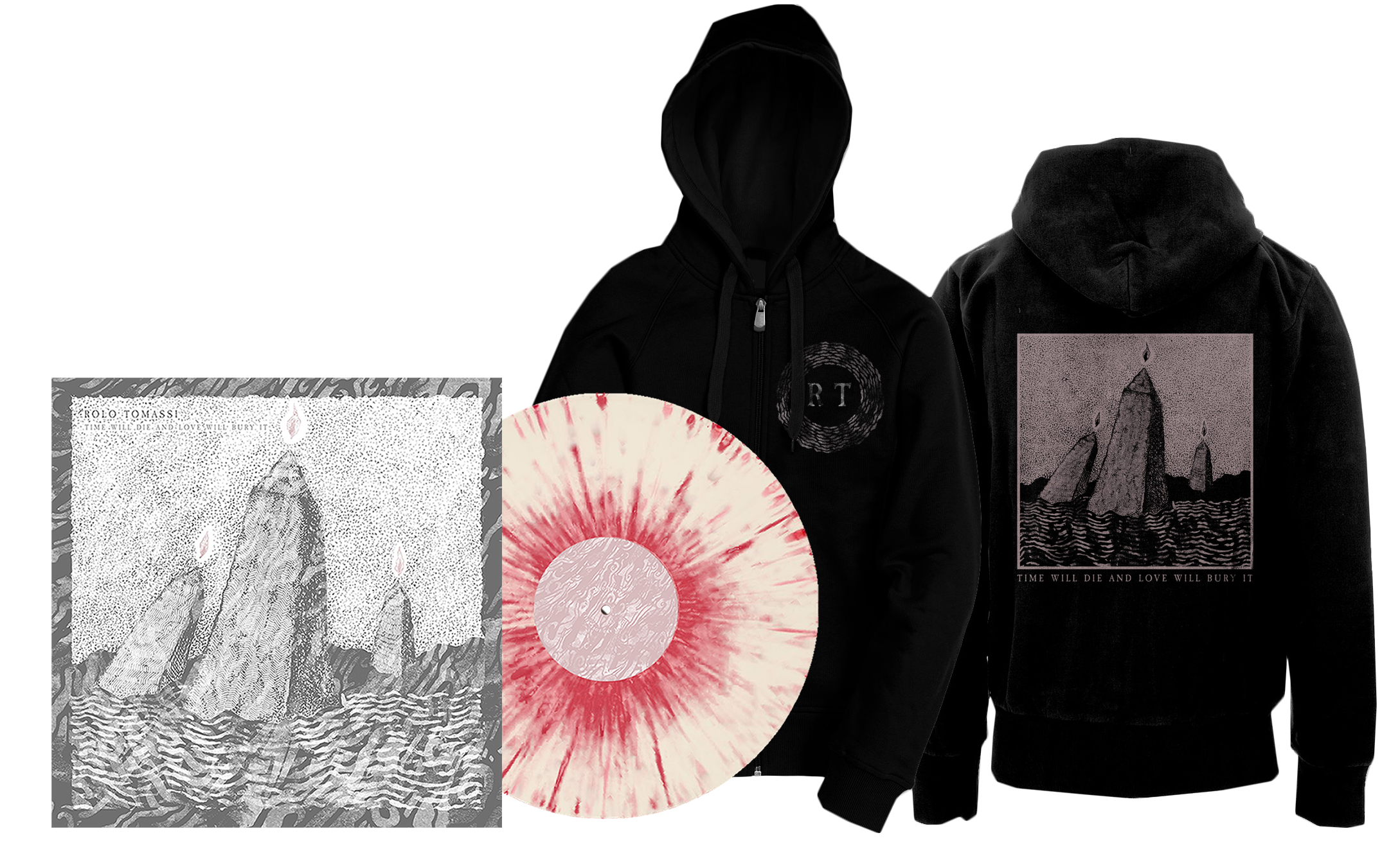 Rolo Tomassi - '...Love Will Bury It' 2xLP + hoodie