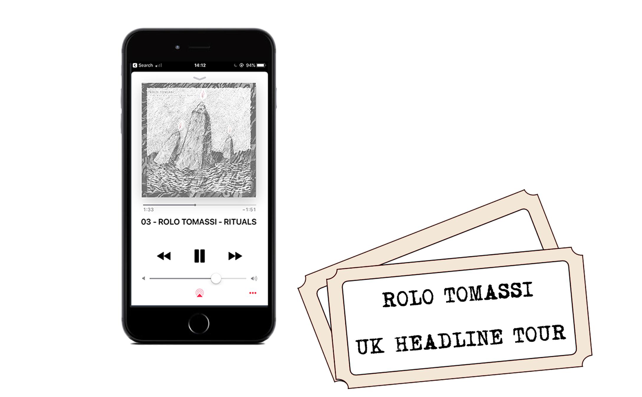 Rolo Tomassi - '...Love Will Bury It' digital download + UK headline show ticket PREORDER
