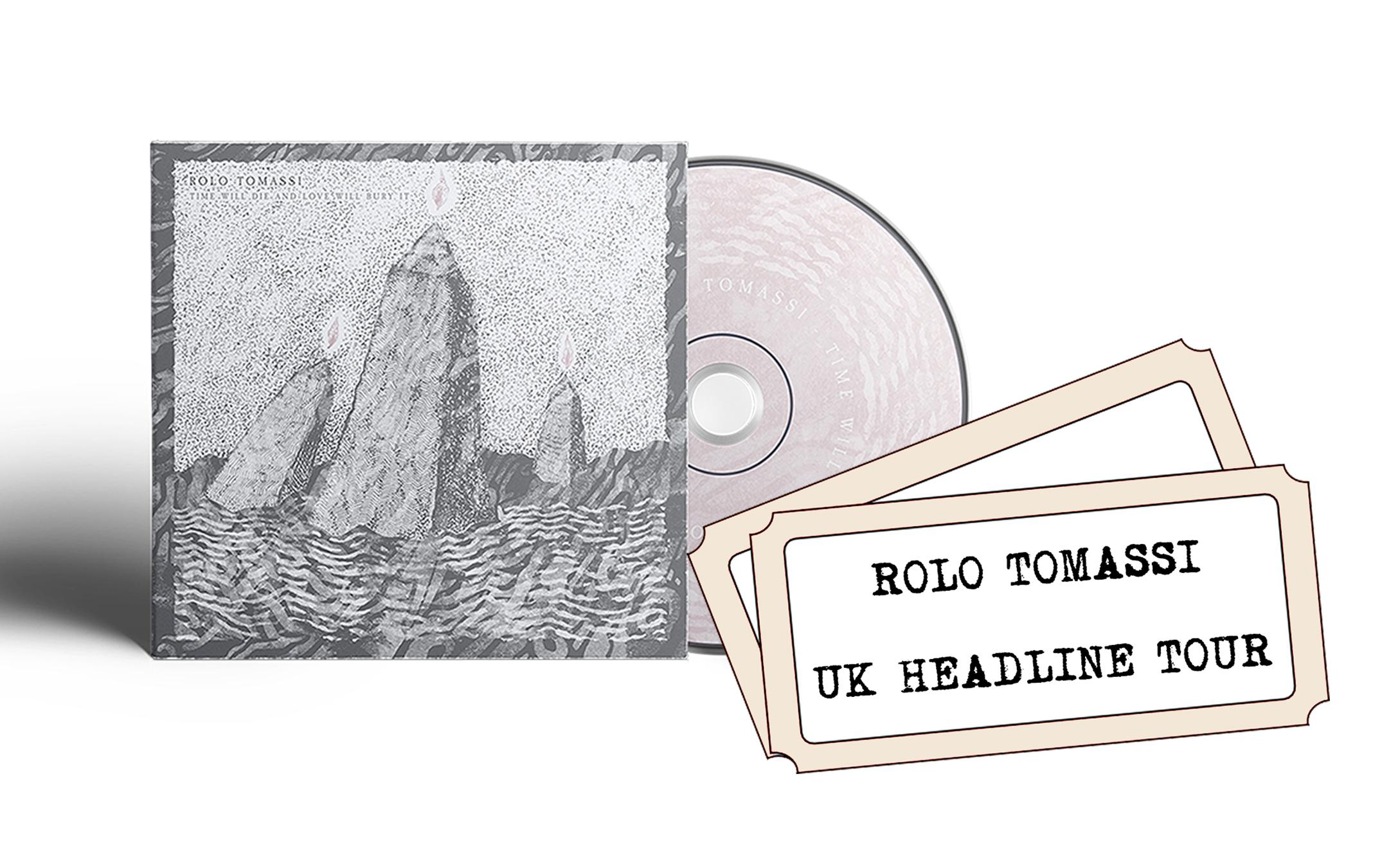Rolo Tomassi - '...Love Will Bury It' CD + UK headline show ticket PREORDER