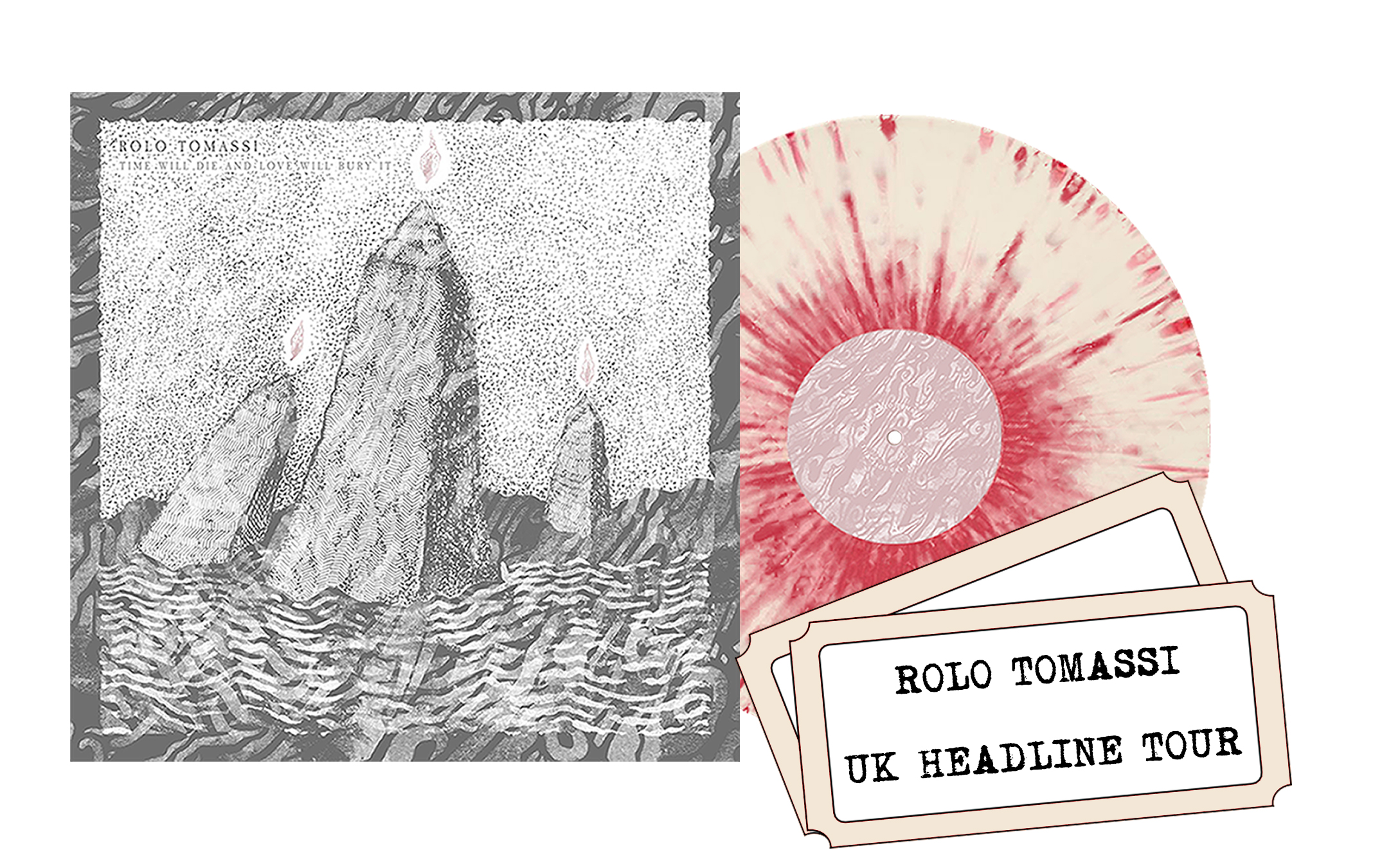 Rolo Tomassi - '...Love Will Bury It' 2xLP + UK headline show ticket