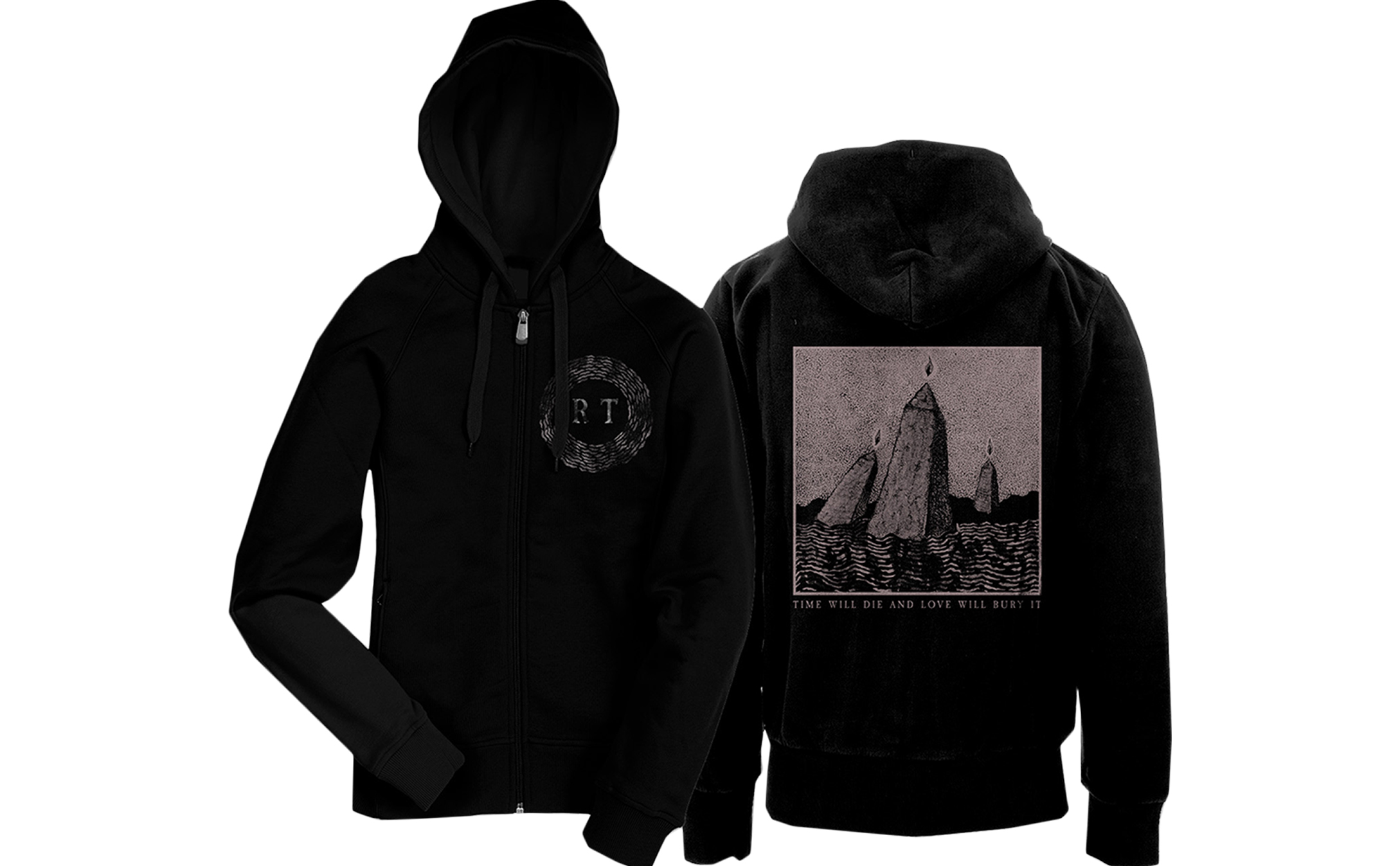 Rolo Tomassi - '...Love Will Bury It' zip-up hoodie