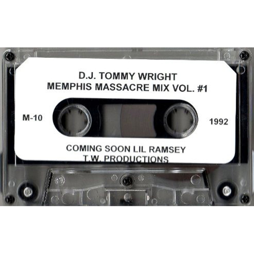 Tommy Wright III - Memphis Massacre Mixtape Vol. 1 (1992)