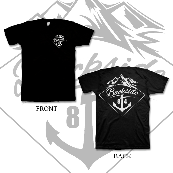 Anchor Eighty Four x Backside (collab Tee)