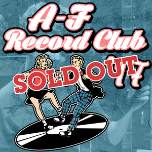 A-F Records 2017 Record Club -- SOLD OUT!