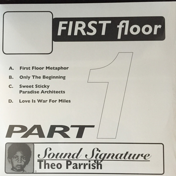 Theo Parrish – First Floor (Part 1) 2 x 12 inch (Peacefrog Records )