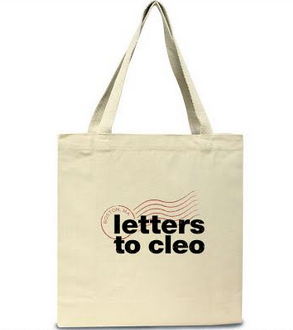 Letters To Cleo Canvas Tote Bag