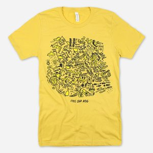 THIS OLD DOG YELLOW T-SHIRT PREORDER