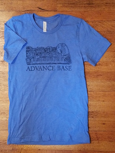 ADVANCE BASE- Live Gear Diagram Shirt