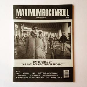 MAXIMUM ROCKNROLL #415 & back issues
