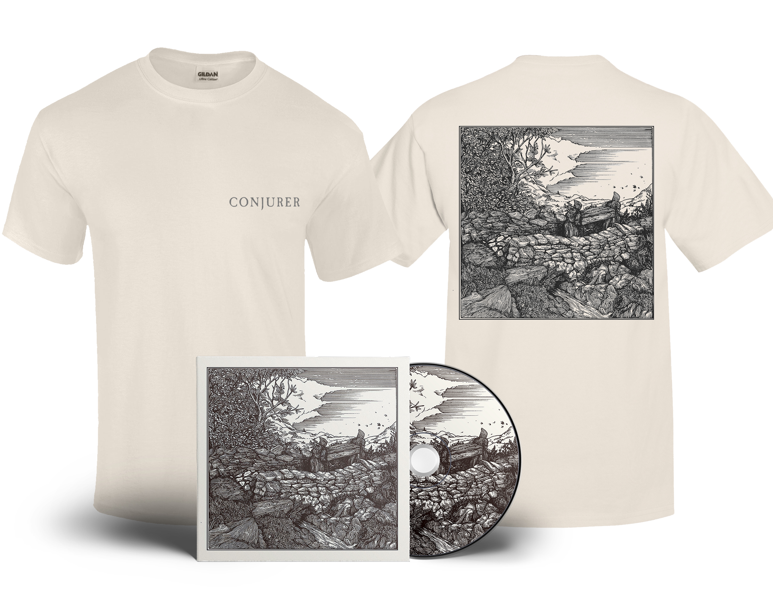 Conjurer 'Mire' digital download +shirt