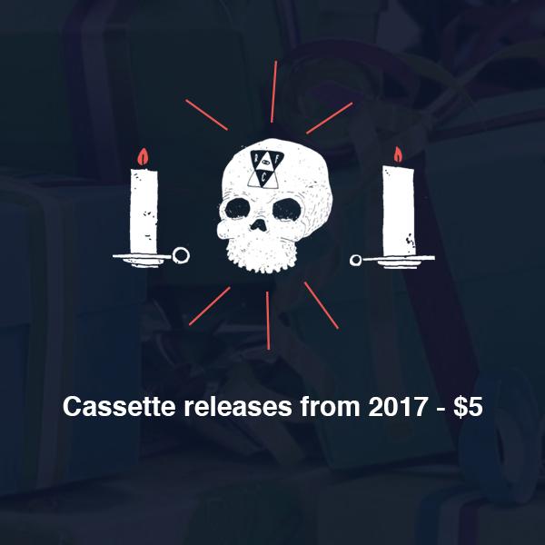 RFC Holiday Sale - 2017 Cassette Sale