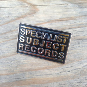 Big Specialist Subject Logo enamel pin badge