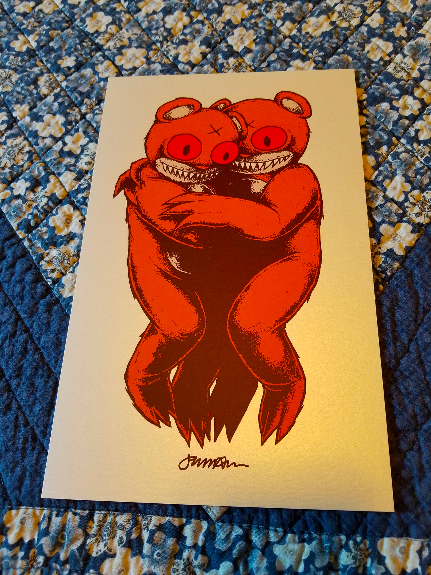 NEW 'We Carry Each Other (DERO)' Mini Print