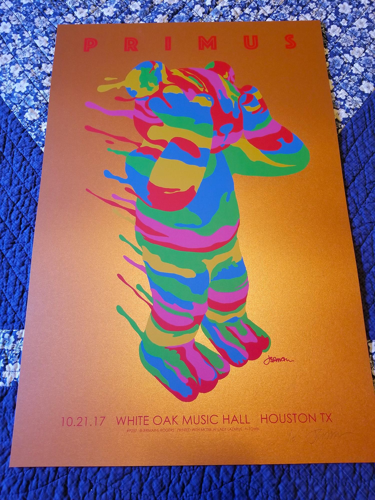 New PRIMUS (Houston 2017)