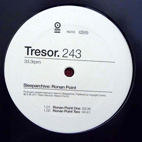 Sleeparchive ‎– Ronan Point (Tresor)