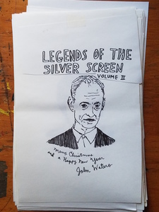 Legends of the Silver Screen- Original Drawings, Vol II