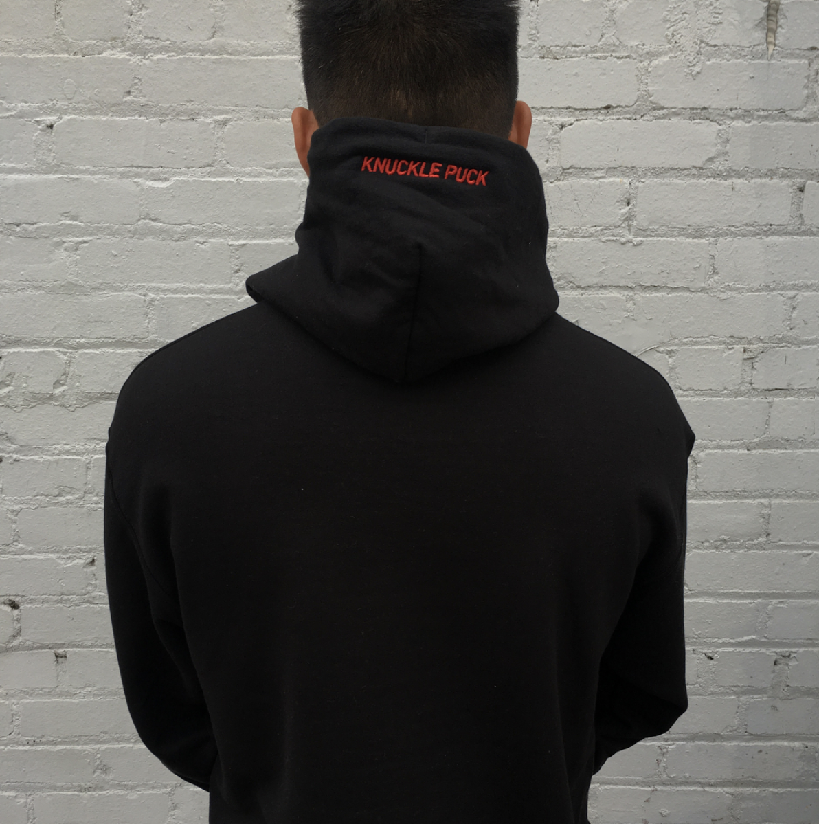 3M Hoodie w/ Red Embroidered Hood