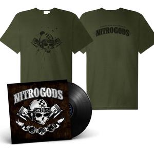 Nitrogods - Self-titled (Vinyl + shirt Bundle)
